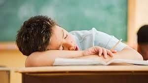 Chiste de profesores, maestro, literatura, dormido, alumnos.