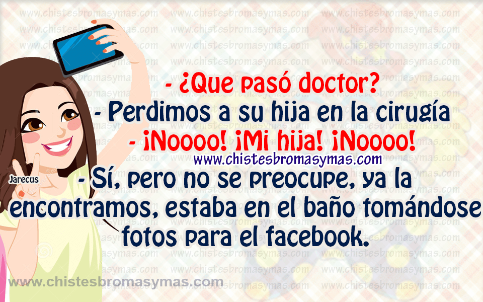 Chiste gráfico - ¿Que pasó doctor?