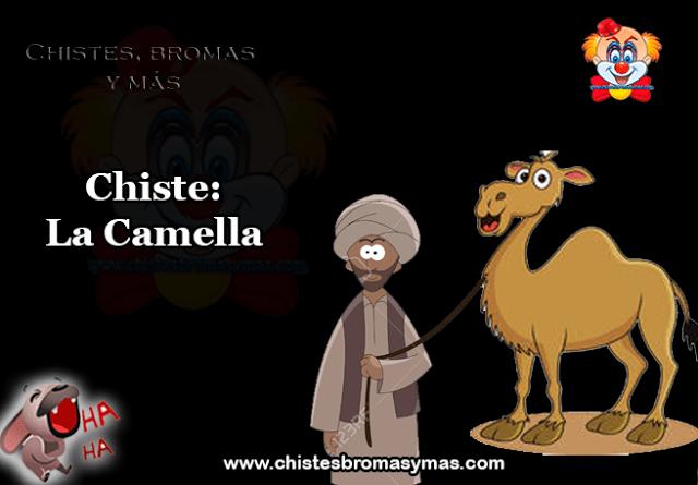 Chiste: La Camella, un General de la Legión Extranjera decide hacer una visita de control a un campamento de legionarios emplazado en  medio del desierto