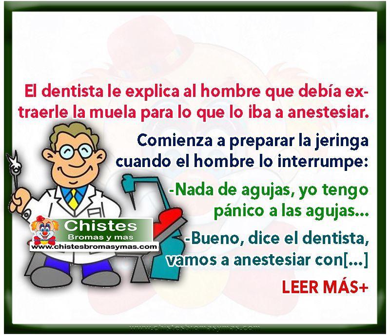 Anestesia Dental Chistes Cortos Y Divertidos De Médicos