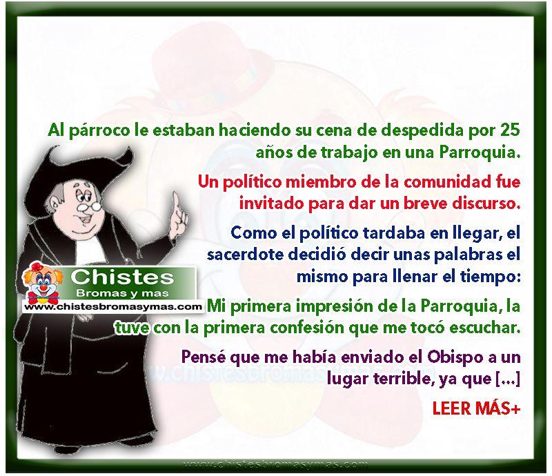 Cena De Despedida Del Párroco Chistes De Curas Y Monjas