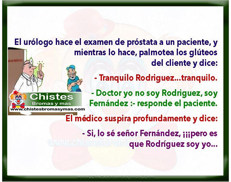 ▷ El examen de próstata - Chiste divertidos de médicos
