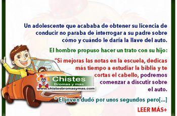 Pacto por Licencia de Conducir - Chistes de padres e hijos