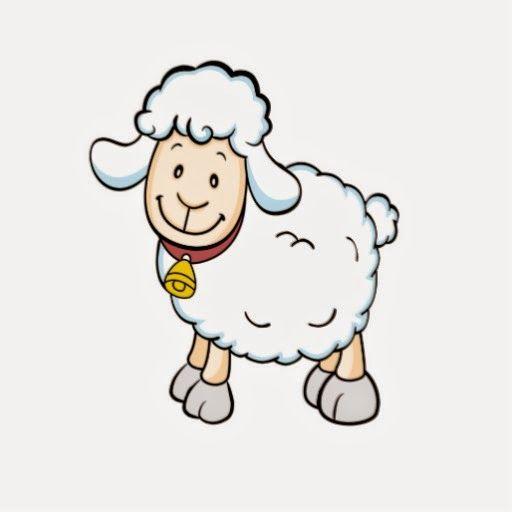 chiste de animales, ovejas, jugando, pelota, agua.