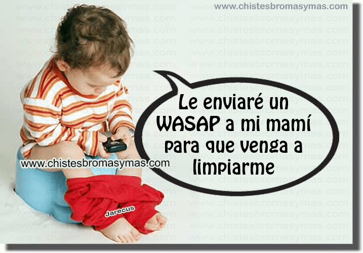 Chiste Gráfico, wasap,