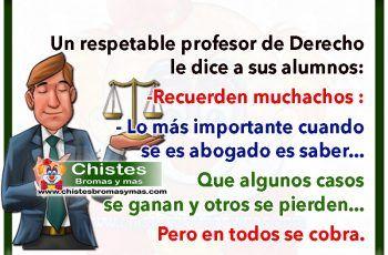 Profesor de derecho - Chistes de abogados