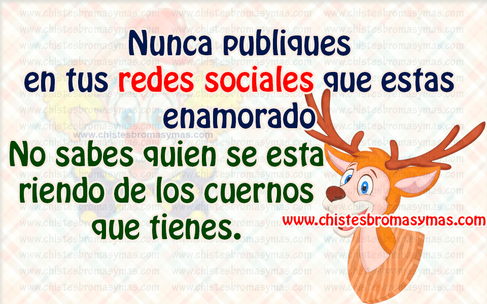 Chiste gráfico - Redes sociales