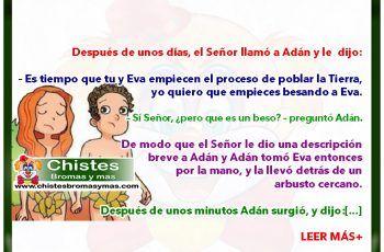 Adán y Eva - Chistes divertidos y buenos religiosos