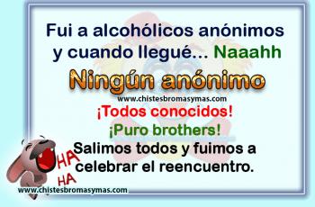 Alcohólicos anónimos - Chistes gráficos