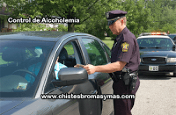 Control de alcoholemia - Chistes de borrachos