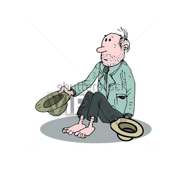 Chiste : El vagabundo, un vagabundo  siempre se ponía fuera de una iglesia a pedir limosna con un sombrero, hasta que un día llegó con dos sombreros, y se le acercó un señor y le preguntó: