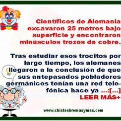Los científicos Alemánes, Rusos y Peruanos : Chistes graciosos